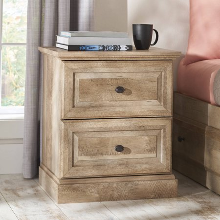 Better Homes and Gardens Crossmill Night Stand, Weathered Finish from Unknown