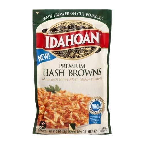 Idahoan, Premium Hash Brown (Pack of 36) by Idahoan