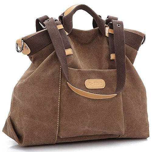 Womens Canvas Handbags - 6