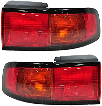 Taillights Taillamps Rear Brake Lights Lamps Pair Set for 06-09 Toyota 4Runner