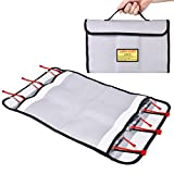 Abaige RC Lipo Battery Safe Guard Storage & Charging Bag (Basic Storage up to 6 Packs Batteries) Firproof Explosion-proof Case Bag