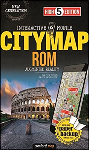 Interactive Mobile CITYMAP Rom: Stadtplan Rom 1:15 000 High 5 ... on