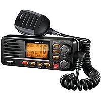 Uniden UM380BK Marine Radio VHF 2-Way Fixed Mount Black Consumer Electronics