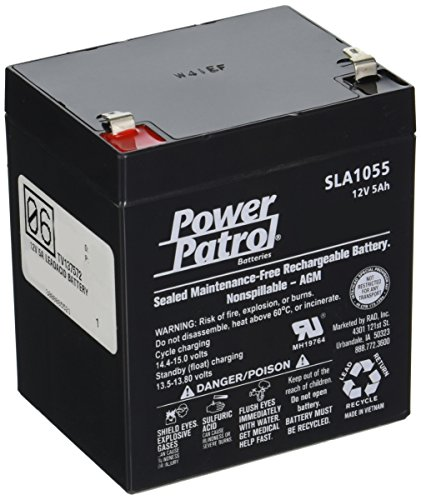 INTERSTATE ALL BATTERY CTR 12V 5A Lead Acid Internal Battery