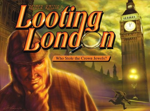 Eagle-Gryphon Games EAG01172 Looting London Board Game