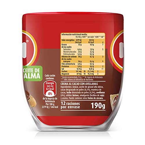 Nocilla Chocolate Hazelnut Spread (7 oz/200 g)