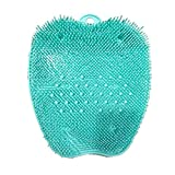 Shower Foot Massager Scrubber, Non-Slip Foot Cleaner Brush for Pregnant Woman & Low Back Pain People - Promote Foot Circulation - Remove Aging Keratin