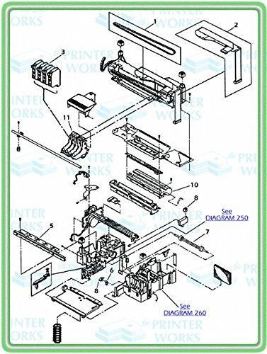 HP C3540-40063 OEM - Carriage belt for HP DeskJet 1600C Series ()