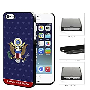 Proud American The Great Seal Hard Plastic Snap On Cell Phone Case Apple iPhone 5 5s by lolosakes