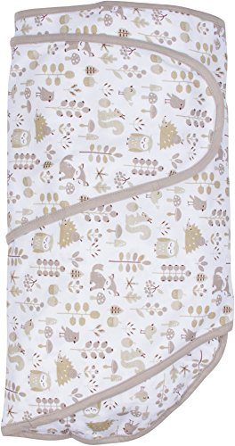 - Miracle Blanket Swaddle Unisex Baby, Foxes, Newborn to 14 Weeks