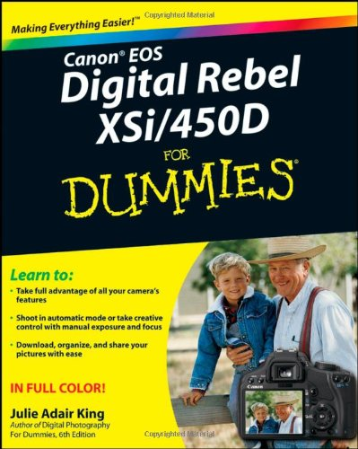 Canon EOS Digital Rebel XSi/450D For Dummies (Direct Sales For Dummies compare prices)