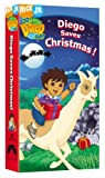 Go Diego Go! Diego Saves Christmas [VHS]