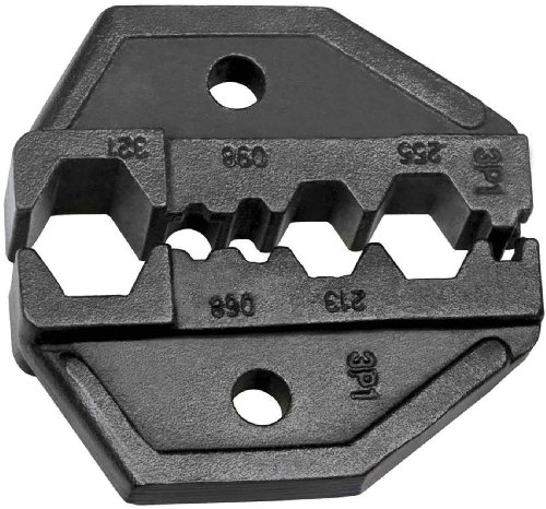 Die Set, Hex Crimp RG59, RG6, RG62 for VDV200-010 Replacement Ratcheting Crimping Frame Klein Tools VDV211-041