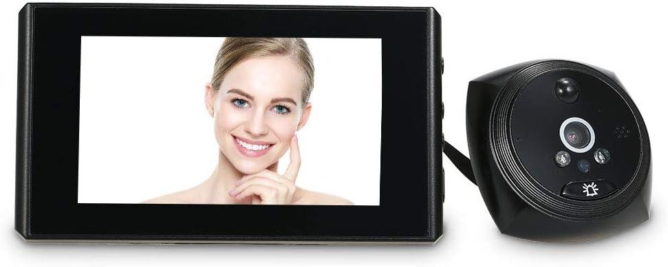 OWSOO Owsoo Campanello Video 1.3Mp Spioncino Porta Videocamera Schermo Lcd A Colori Da 4,3 Pollici Monitor