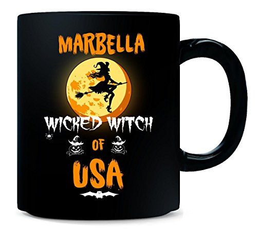Marbella Wicked Witch Of Usa. Halloween Gift - Mug
