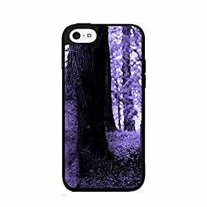 Cute painting Cemetery TPU RUBBER SILICONE Phone Case Back Cover iPhone 5 5s BY EPPOR