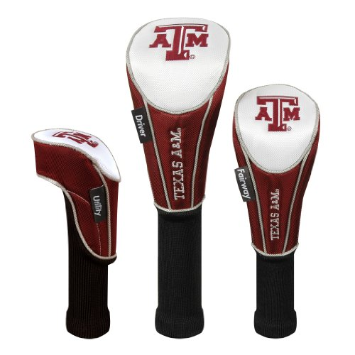 Texas A&M Aggies Set of Three Headcovers