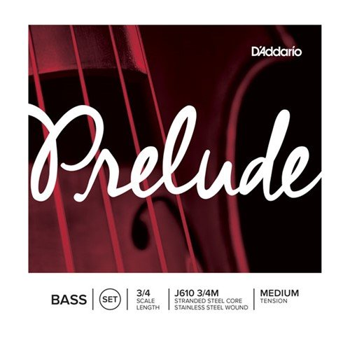 D'Addario Prelude 3/4 Size Double Bass String (Orchestra Bass Strings)