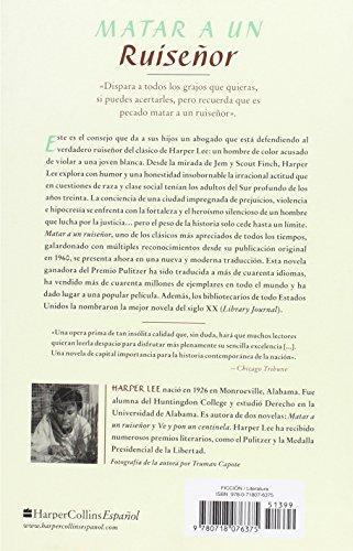 Matar a un ruiseñor de Harper Lee | Letras y Latte - Libros en español