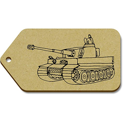 99mm Tag 10 X tank' 'War Azeeda 51mm regalobagagliotg00066674 Large CxroedB