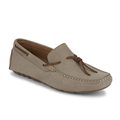 b07fe739b452 Mens Wright Leather Casual Driver Loafer Shoe