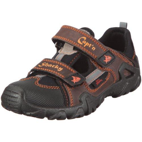 Captn Sharky Sebastian 430361 - Zapatos de cuero para niño Marrón