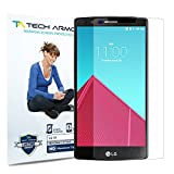 Tech Armor LG G4 High Defintion (HD) Clear Screen Protectors - Maximum Clarity and Touchscreen ...