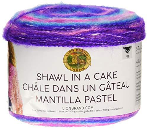 Lion Brand Yarn 455-212 Shawl in a Cake Yarn, Half ()