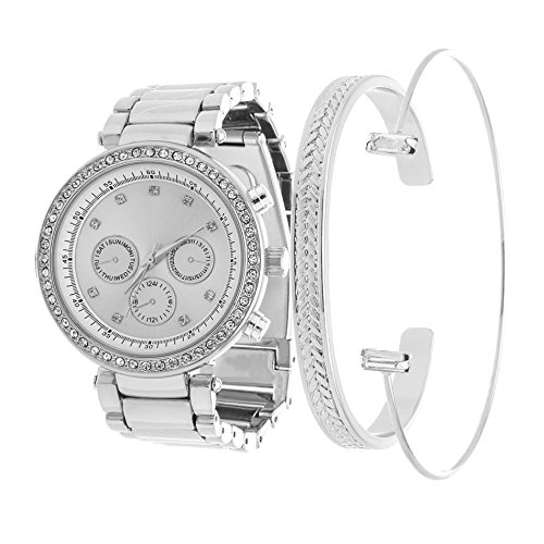 fortune-nyc-arm-candy-ladies-round-case-silver-alloy-fashion-watch