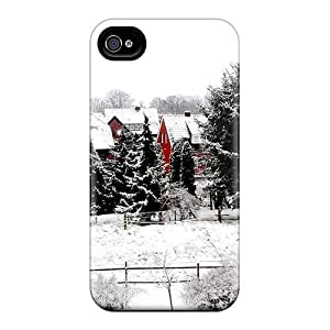 Awesome Case Cover/iphone 4/4s Defender Case Cover(winter At Home)