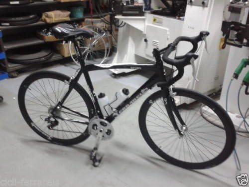 Bicicleta de carrera 28 de aluminio - Horquilla de carbono - Negra ...