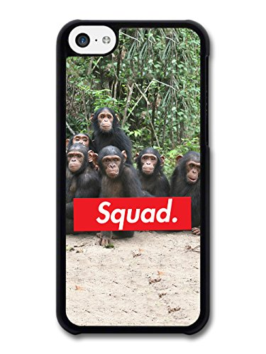 Funny Cute Cool Chimps Squad Goals Photography in the Jungle case for iPhone 5C