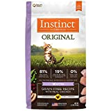 Instinct Original Kitten Grain Free Recipe With Real Chicken Natural Dry Cat Food By Nature'S Variety, 4.5 Lb. Bag Review