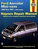 Ford Aerostar Mini Van '86'97 (Haynes Repair Manuals)