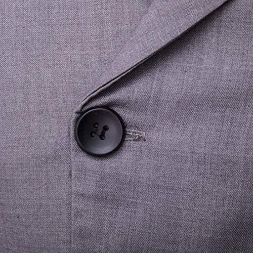 Double En Veste Hommes Essential Avec Col V Jacket À Schwarz Pour Manches Sans Boutonnage wqrqPF