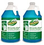 OdoBan Professional Cleaning and Odor Control Solutions, BioLaundry Advanced Enzyme Detergent, 2 Gal