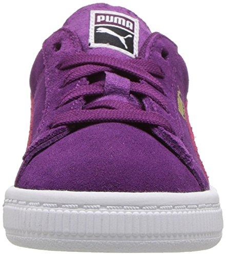 PUMA Baby Suede Kids Sneaker, Dark Purple-Love Potion, 10 M US Toddler by PUMA (Image #4)