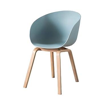 Yan Long Home Chaise Europe Du Nord Chaise En Bois Massif Moderne