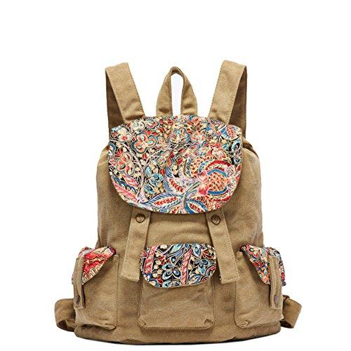 Paño de la vela nacional/mochila/Bolsa de viaje/mochila/Bolsas de la escuela-C C
