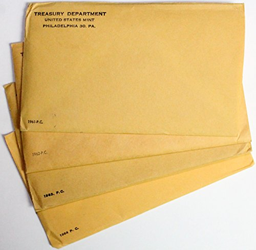 1961 1962 1963 1964 Proof Set Collection Original Government Packaging