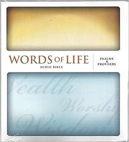 Words of Life Audio Bible: Psalms & Proverbs Audio 6-cd Set!: Amazon