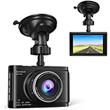 "Dash Cam, Elecwave Full HD 1080P Dashboard Camera for Cars, Car Dash Cam Driving Recorder 3"" LCD with Super Night Vision G-Sensor Loop Recording"