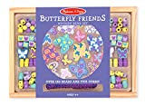 Kyпить Melissa & Doug Butterfly Friends Wooden Bead Set With 120+ Beads for Jewelry-Making на Amazon.com