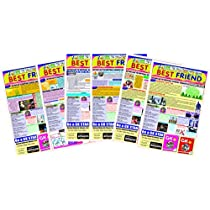 Gikso Best Friend Set of 6 Activity Newspaper Worksheets Junior (All in one) 48 Pagesfor Kids Age 5-9 Years Old