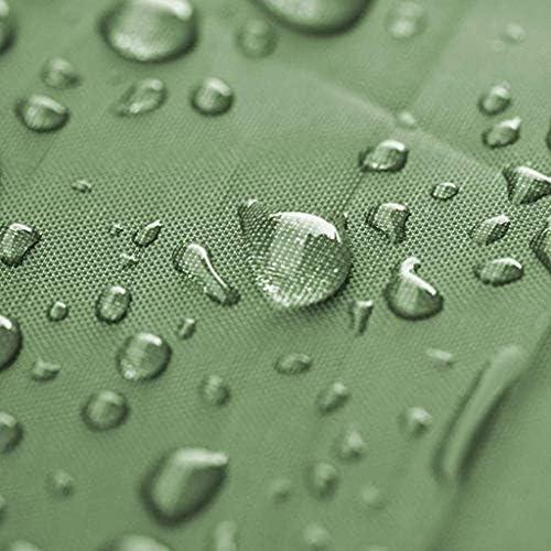 QVIVI Hochleistungs Plane Abdeckplanen Verstärkte Ösen Dicke Plane Aus Segeltuch Wasserdichtes Grünes Zeltplanen Für Camping Im Freien 2 * 2m