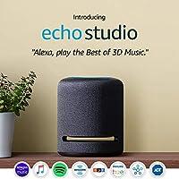 Amazon Echo Studio Smart Speaker with 3D audio and Alexa