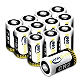 CR2 3V Lithium Battery,Keenstone 12Pcs 850mAh Non-Rechargeable Lithium Photo Battery for Flashlight,Toys and Many Other Photo Equipments (Can Not Be Recharged)