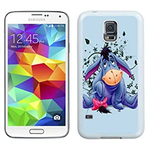 Hot Sale Samsung Galaxy S5 I9600 Case ,Eeyore White Samsung Galaxy S5 Cover Unique And Popular Designed Phone Case