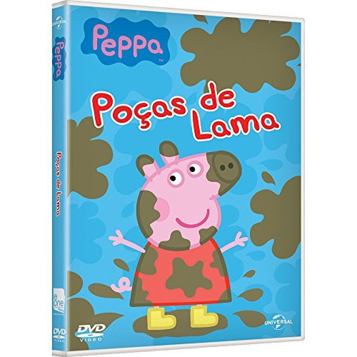 Dvd Peppa Pig Muddy Puddles And Other Stories Poa As De Lama E