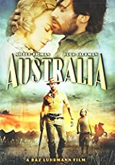AUSTRALIA is an epic and romantic action adventure, set in that country on the explosive brink of World War II. In it, an English aristocrat (Nicole Kidman) travels to the faraway continent, where she meets a rough-hewn local (Hugh Jackman) a...